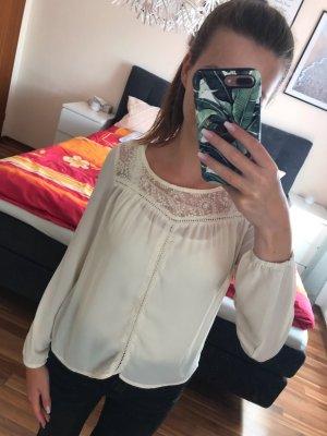H&M - Bluse mit Spitzeneinsätzen