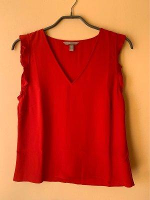 H&M Bluse mit tiefem Ausschnitt