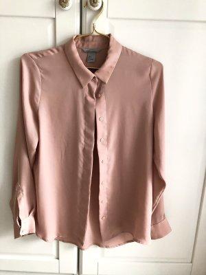 H&M Bluse rosé 36