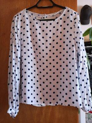 H&M Bluse, Sommerbluse, lockere Bluse, Größe 38, Weiß
