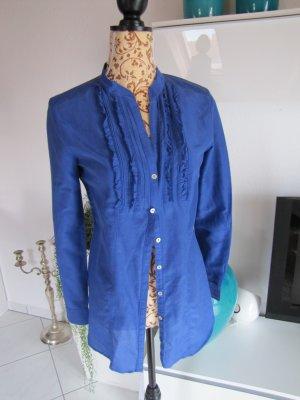 H&M Bluse Tunika Gr 38 M Blau NEU