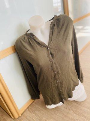 H&M Bluse Tunika Khaki top Gr.38 M