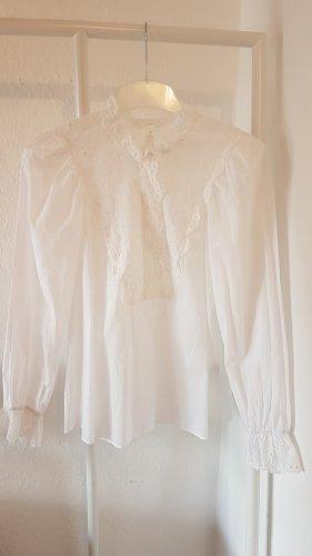 H&M Bluse weiß Gr. 40