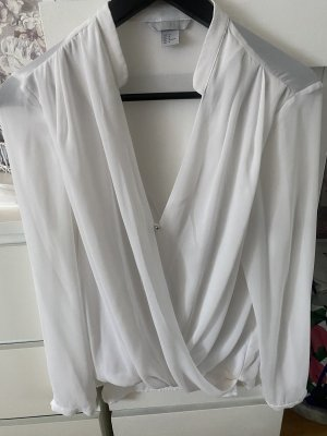 H&M bluse wickeloptik
