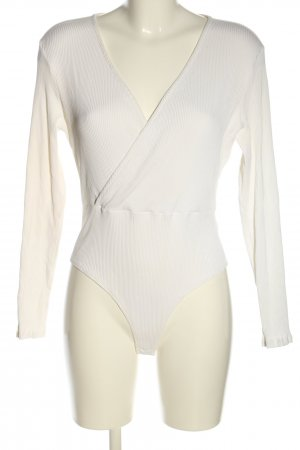 H&M Bodysuit Blouse white casual look