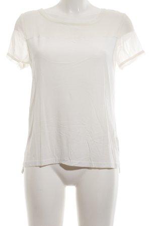 H&M Empiècement de blouses blanc style décontracté
