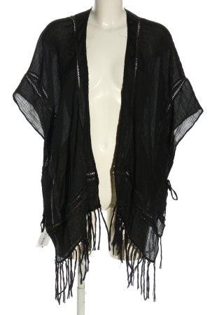 H&M Blusenjacke schwarz Casual-Look
