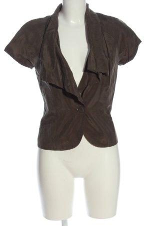 H&M Chaqueta tipo blusa marrón look casual