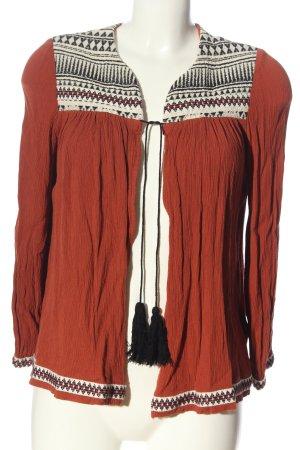 H&M Blouse Jacket graphic pattern elegant