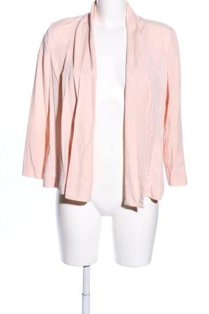 H&M Chaqueta tipo blusa crema look casual