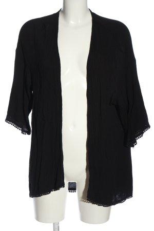 H&M Blousejack zwart casual uitstraling