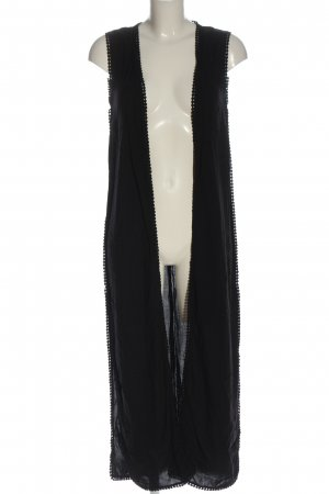 H&M Chaqueta tipo blusa negro look casual