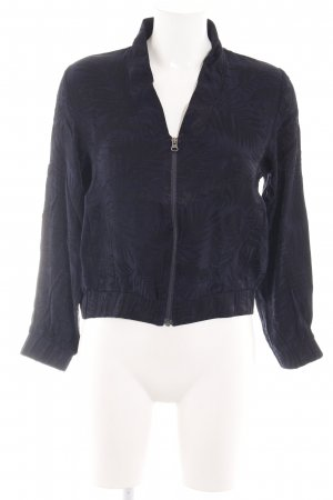 H&M Blouse Jacket black-blue casual look