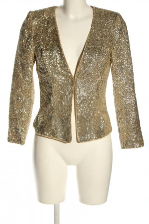 H&M Blusenjacke goldfarben Elegant