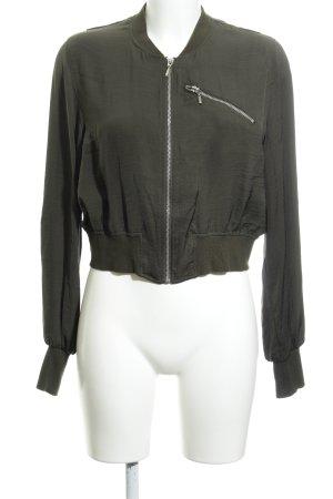 H&M Blusenjacke khaki Casual-Look