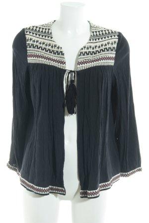 H&M Blusenjacke mehrfarbig schlichter Stil