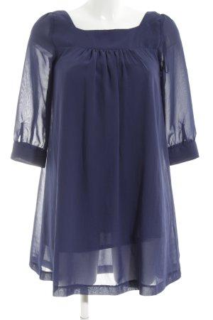 H&M Blusenkleid lila Casual-Look