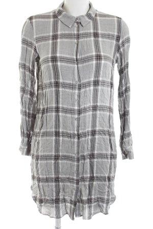 H&M Blusenkleid Karomuster Casual-Look