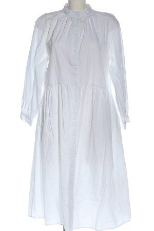 H&M Blusenkleid weiß Elegant