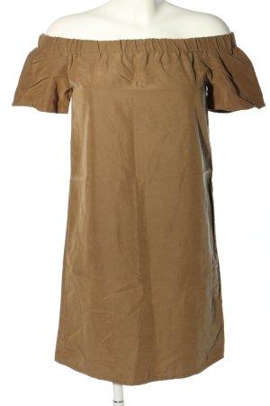 H&M Blusenkleid braun Casual-Look