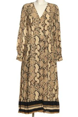 H&M Blusenkleid Leomuster Casual-Look