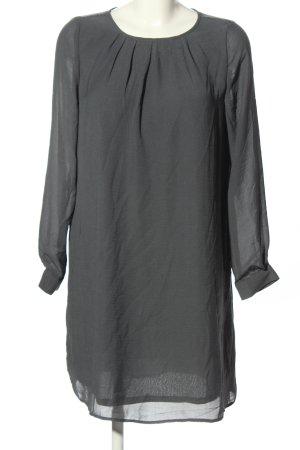 H&M Blusenkleid hellgrau Elegant