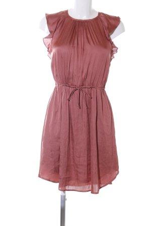 H&M Blusenkleid braun Business-Look