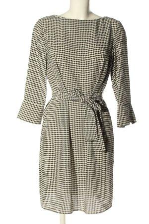 H&M Blusenkleid schwarz-weiß Karomuster Casual-Look