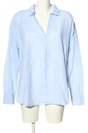 H&M Blusenkleid blau Streifenmuster Casual-Look