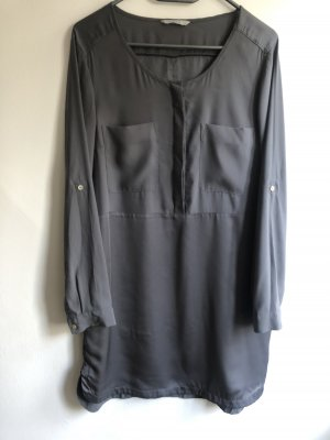 H&M Blouse Dress anthracite polyester