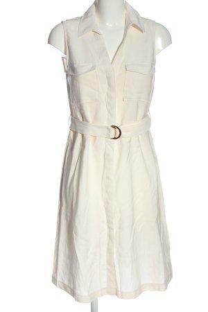 H&M Blusenkleid weiß Business-Look