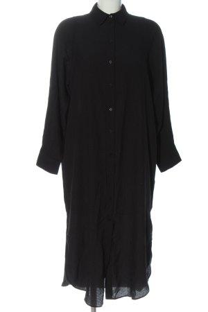 H&M Abito blusa nero stile professionale