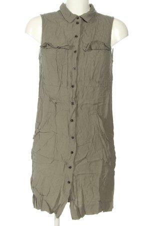 H&M Blusenkleid khaki Casual-Look
