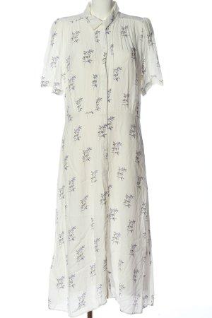 H&M Blusenkleid Allover-Druck Elegant