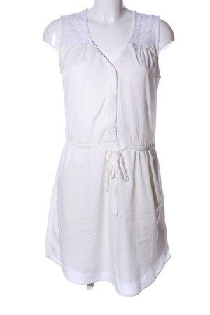 H&M Blusenkleid weiß Casual-Look