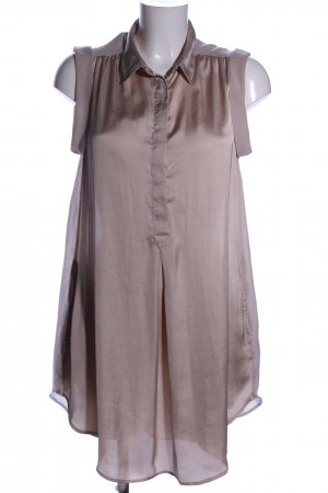 H&M Blusenkleid hellgrau Casual-Look