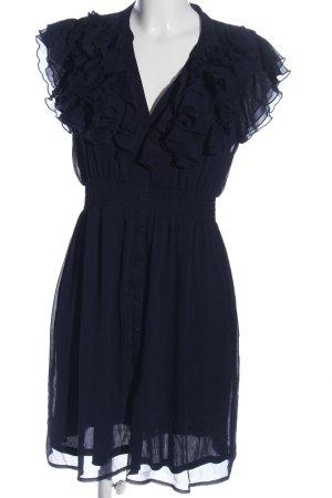 H&M Blusenkleid blau Casual-Look