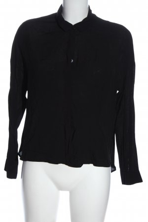 H&M Blouse Collar black business style