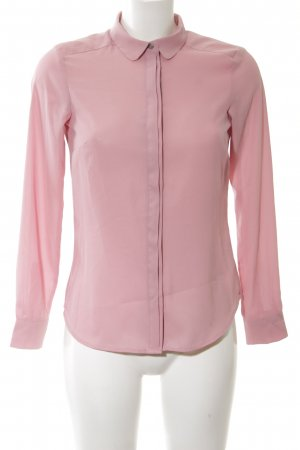 H&M Blusenkragen pink Business-Look