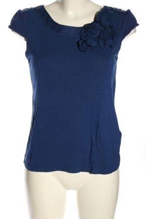 H&M Blusenshirt blau Casual-Look