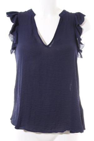 H&M Blusentop blau Casual-Look