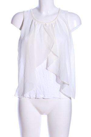 H&M Top koszulowy biały W stylu casual