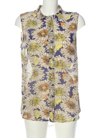 H&M Blouse topje bloemenprint casual uitstraling
