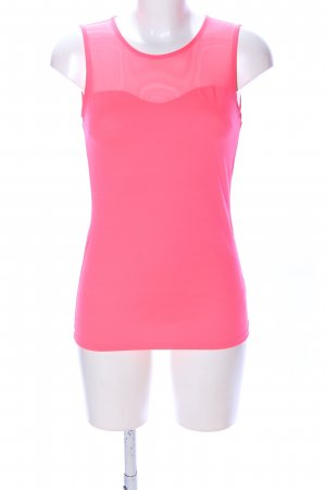 H&M Blusentop pink Business-Look
