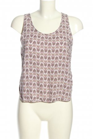 H&M Blusentop grafisches Muster Casual-Look