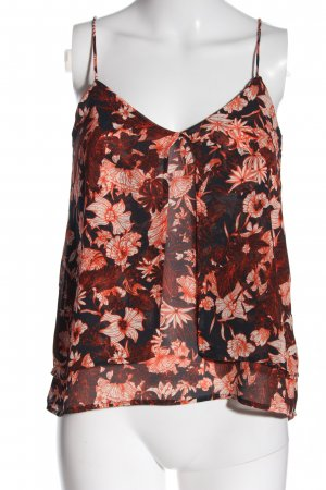 H&M Blusentop Allover-Druck Casual-Look