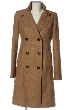 H&M Długi płaszcz brązowy W stylu casual