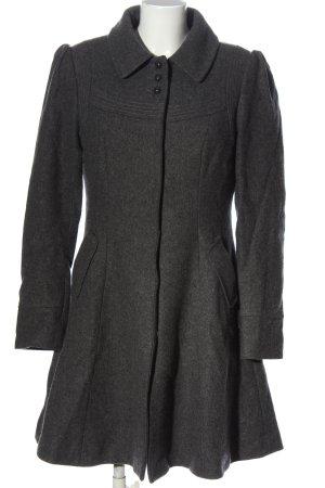 H&M Długi płaszcz jasnoszary W stylu casual