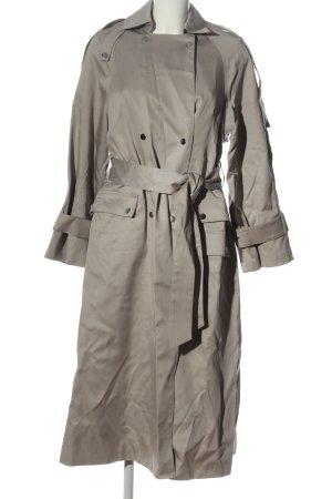 H&M Manteau long gris clair style décontracté
