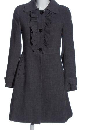 H&M Cappotto lungo fino a terra blu stile casual